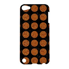 Circles1 Black Marble & Rusted Metal (r) Apple Ipod Touch 5 Hardshell Case