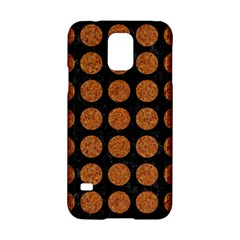 Circles1 Black Marble & Rusted Metal (r) Samsung Galaxy S5 Hardshell Case