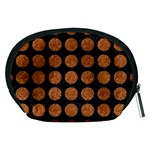 CIRCLES1 BLACK MARBLE & RUSTED METAL (R) Accessory Pouches (Medium)  Back