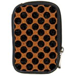 CIRCLES2 BLACK MARBLE & RUSTED METAL Compact Camera Cases