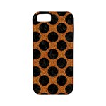 CIRCLES2 BLACK MARBLE & RUSTED METAL Apple iPhone 5 Classic Hardshell Case (PC+Silicone)