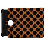 CIRCLES2 BLACK MARBLE & RUSTED METAL Kindle Fire HD 7