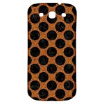 CIRCLES2 BLACK MARBLE & RUSTED METAL Samsung Galaxy S3 S III Classic Hardshell Back Case