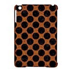 CIRCLES2 BLACK MARBLE & RUSTED METAL Apple iPad Mini Hardshell Case (Compatible with Smart Cover)