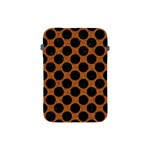 CIRCLES2 BLACK MARBLE & RUSTED METAL Apple iPad Mini Protective Soft Cases