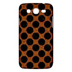 Circles2 Black Marble & Rusted Metal Samsung Galaxy Mega 5 8 I9152 Hardshell Case