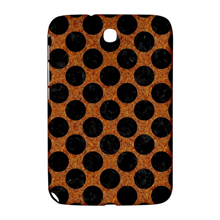 CIRCLES2 BLACK MARBLE & RUSTED METAL Samsung Galaxy Note 8.0 N5100 Hardshell Case