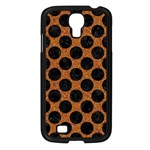 CIRCLES2 BLACK MARBLE & RUSTED METAL Samsung Galaxy S4 I9500/ I9505 Case (Black)
