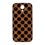CIRCLES2 BLACK MARBLE & RUSTED METAL Samsung Galaxy S4 I9500/I9505  Hardshell Back Case