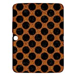 CIRCLES2 BLACK MARBLE & RUSTED METAL Samsung Galaxy Tab 3 (10.1 ) P5200 Hardshell Case