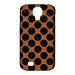 CIRCLES2 BLACK MARBLE & RUSTED METAL Samsung Galaxy S4 Classic Hardshell Case (PC+Silicone)