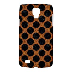 Circles2 Black Marble & Rusted Metal Galaxy S4 Active by trendistuff