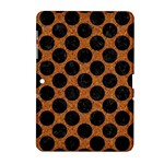 CIRCLES2 BLACK MARBLE & RUSTED METAL Samsung Galaxy Tab 2 (10.1 ) P5100 Hardshell Case