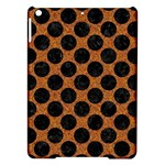 CIRCLES2 BLACK MARBLE & RUSTED METAL iPad Air Hardshell Cases