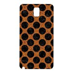 CIRCLES2 BLACK MARBLE & RUSTED METAL Samsung Galaxy Note 3 N9005 Hardshell Back Case