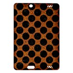 CIRCLES2 BLACK MARBLE & RUSTED METAL Amazon Kindle Fire HD (2013) Hardshell Case