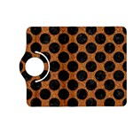 CIRCLES2 BLACK MARBLE & RUSTED METAL Kindle Fire HD (2013) Flip 360 Case