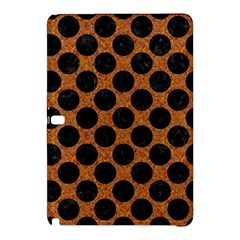 Circles2 Black Marble & Rusted Metal Samsung Galaxy Tab Pro 10 1 Hardshell Case
