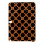 CIRCLES2 BLACK MARBLE & RUSTED METAL Samsung Galaxy Tab Pro 12.2 Hardshell Case