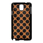 CIRCLES2 BLACK MARBLE & RUSTED METAL Samsung Galaxy Note 3 Neo Hardshell Case (Black)