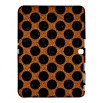 CIRCLES2 BLACK MARBLE & RUSTED METAL Samsung Galaxy Tab 4 (10.1 ) Hardshell Case
