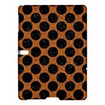 CIRCLES2 BLACK MARBLE & RUSTED METAL Samsung Galaxy Tab S (10.5 ) Hardshell Case