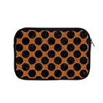 CIRCLES2 BLACK MARBLE & RUSTED METAL Apple MacBook Pro 15  Zipper Case