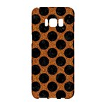 CIRCLES2 BLACK MARBLE & RUSTED METAL Samsung Galaxy S8 Hardshell Case
