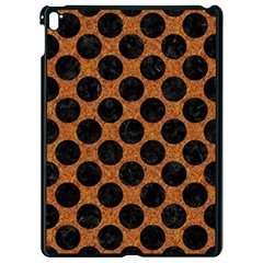 Circles2 Black Marble & Rusted Metal Apple Ipad Pro 9 7   Black Seamless Case by trendistuff