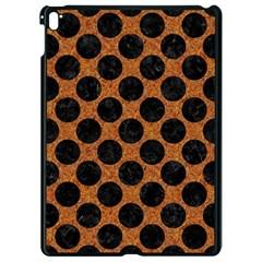 Circles2 Black Marble & Rusted Metal Apple Ipad Pro 9 7   Black Seamless Case