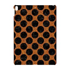 Circles2 Black Marble & Rusted Metal Apple Ipad Pro 10 5   Hardshell Case