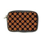 CIRCLES2 BLACK MARBLE & RUSTED METAL (R) Coin Purse