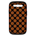 CIRCLES2 BLACK MARBLE & RUSTED METAL (R) Samsung Galaxy S III Hardshell Case (PC+Silicone)