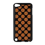 CIRCLES2 BLACK MARBLE & RUSTED METAL (R) Apple iPod Touch 5 Case (Black) Front