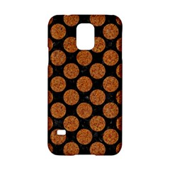 Circles2 Black Marble & Rusted Metal (r) Samsung Galaxy S5 Hardshell Case  by trendistuff
