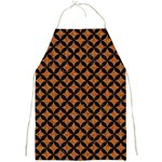 CIRCLES3 BLACK MARBLE & RUSTED METAL Full Print Aprons