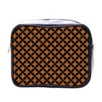 CIRCLES3 BLACK MARBLE & RUSTED METAL Mini Toiletries Bags