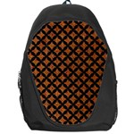 CIRCLES3 BLACK MARBLE & RUSTED METAL Backpack Bag