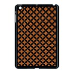 CIRCLES3 BLACK MARBLE & RUSTED METAL Apple iPad Mini Case (Black)