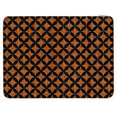 Circles3 Black Marble & Rusted Metal Samsung Galaxy Tab 7  P1000 Flip Case