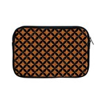 CIRCLES3 BLACK MARBLE & RUSTED METAL Apple iPad Mini Zipper Cases