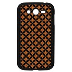 CIRCLES3 BLACK MARBLE & RUSTED METAL Samsung Galaxy Grand DUOS I9082 Case (Black)