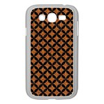 CIRCLES3 BLACK MARBLE & RUSTED METAL Samsung Galaxy Grand DUOS I9082 Case (White)