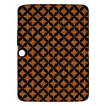 CIRCLES3 BLACK MARBLE & RUSTED METAL Samsung Galaxy Tab 3 (10.1 ) P5200 Hardshell Case