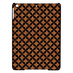 CIRCLES3 BLACK MARBLE & RUSTED METAL iPad Air Hardshell Cases