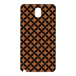 CIRCLES3 BLACK MARBLE & RUSTED METAL Samsung Galaxy Note 3 N9005 Hardshell Back Case