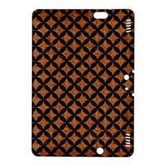 Circles3 Black Marble & Rusted Metal Kindle Fire Hdx 8 9  Hardshell Case by trendistuff