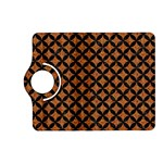CIRCLES3 BLACK MARBLE & RUSTED METAL Kindle Fire HD (2013) Flip 360 Case