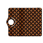 CIRCLES3 BLACK MARBLE & RUSTED METAL Kindle Fire HDX 8.9  Flip 360 Case