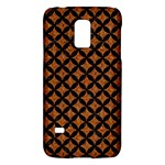 CIRCLES3 BLACK MARBLE & RUSTED METAL Galaxy S5 Mini